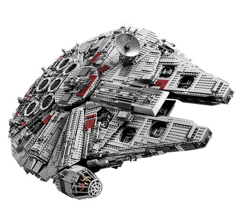 LEPIN 05033 legod Star Wars Ultimate Collector's Millennium Falcon Building Block  Compatible with 10179 Starwars аксессуар для домашнего кинотеатра millennium audio m block 8055