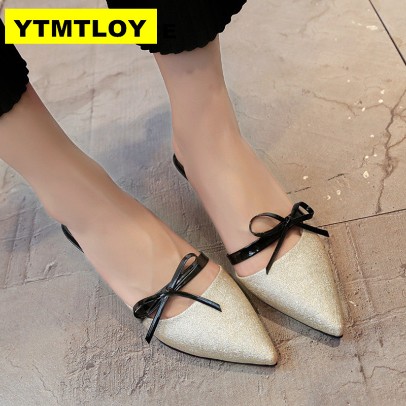 2019 Summer Women Shoes High Heels Pumps Thin Heel Pointed toe Bowtie Patent Leather Pumps 4 Colors2019 Summer Women Shoes High Heels Pumps Thin Heel Pointed toe Bowtie Patent Leather Pumps 4 Colors