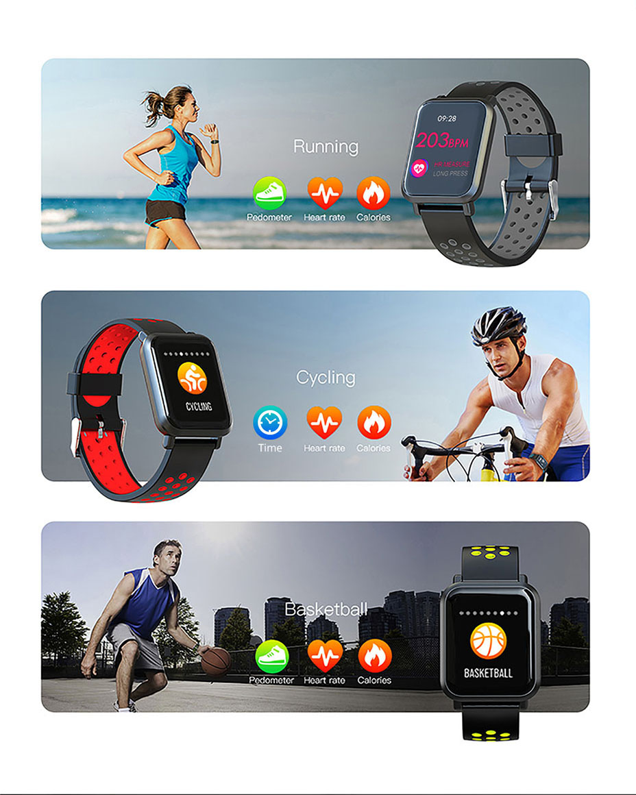 COLMI Smart Watch Men Tempered glass Fitness Tracker Blood pressure IP68 Waterproof Activity Tracker Women Smartwatch 13