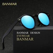 BANMAR Vintage Retro Steampunk gafas de Sol de Diseñador de la Marca de Lujo de Las Mujeres Gafas Gafas de Sol Masculino Polarizado Espelhado BM2180