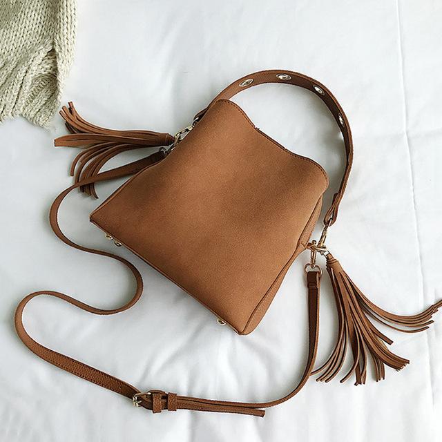 Buy Tassel Shoulder Bag Female Vintage Cross body Bags For Women