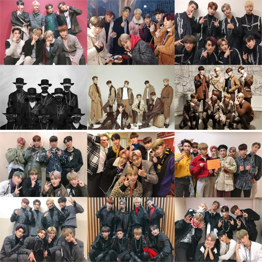 Ateez Music Band Posters Wall Prints Glossy Papers Good Quality Bedroom Decoration Free Shipping