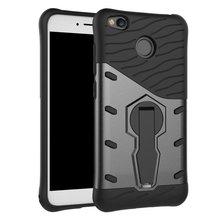Для Xiaomi Redmi 4X CASE Противоударный Прочная Броня Hybrid Case 360 Стенд Крышка Redmi 4X