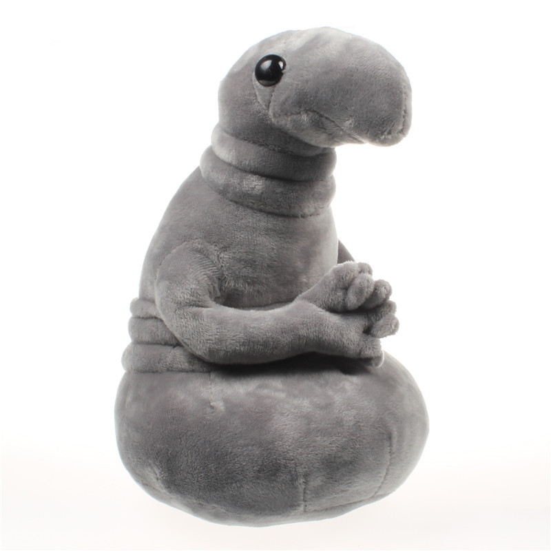 1pc 20cm Waiting Zhdun Meme Tubby Gray Blob Zhdun Plush Toy Stuffed Animal Dolls Homunculus Loxodontus Creative Nice Cute Gift