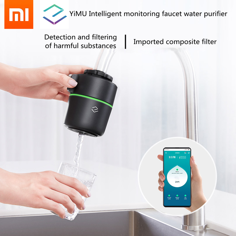 2019 original XIAOMI YiMu Technology Intelligent Monitoring Faucet Water Purifier Filter Tap Water Purifier From Xiaomiyoupin