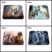 Heroes Of The Storm Hot Poster Custom High Quality Cloth Rubber Desktop Laptop Comfortable 18*22cm and 25*29cm Gaming Mouse pad