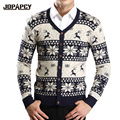 New Arrival Casual Homme Cardigan Winter Christmas Sweater Reindeer Sweaters Men Casual Warm Knitted Mens Clothing MXD0097