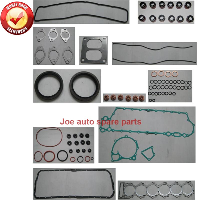 Auto Replacement Parts Honesty For Isuzu 6sd1 6sd1t Engine Full Gasket Set Kit For Hiatch Ex300 Ex350 Ex330 Ex370 Ex300-2 Ex300-2 Excavator Ls Crane Truck