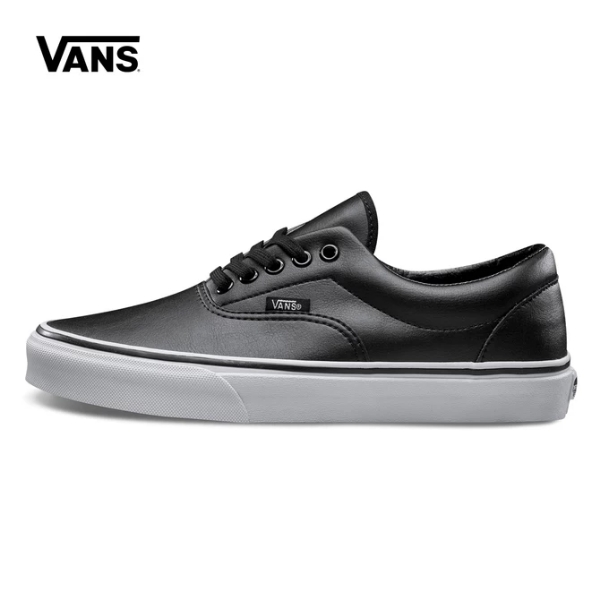22eeccc01d80 VANS Classic Men and Womens Sneakers canvas All black High-end leather shoes