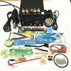 110V 220V EU US PLUG Freeshipping 4in1 Set 700W YIHUA 853D Hot Air Guns Soldering Usb
