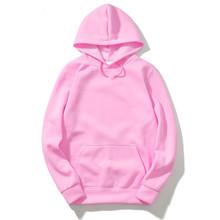 2017 New brand Streetwear Hip Hop red Black gray pink Hooded Hoody Mens Hoodies and Sweatshirts Size S-XXL(China)