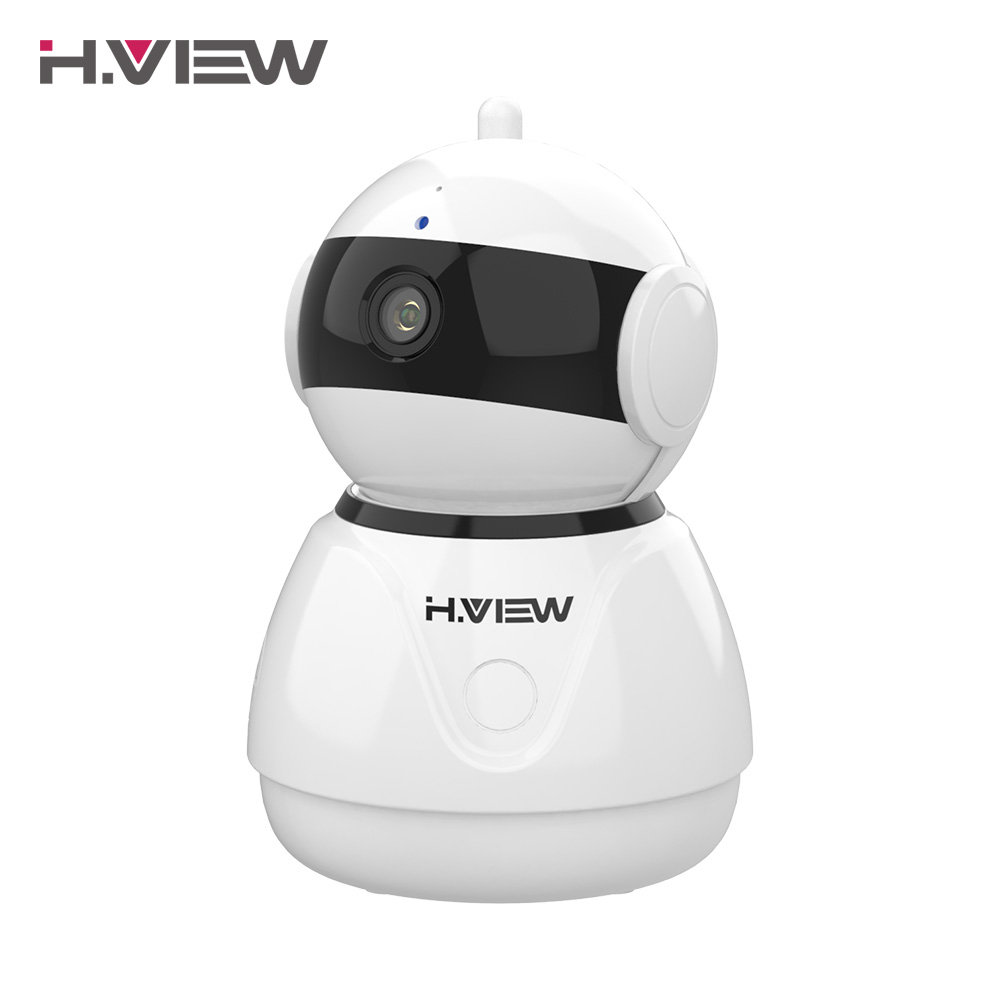 H. VUE IP Caméra 1080 p WiFi Caméra 2MP PTZ CCTV Caméras Facile Vue À Distance sur iPhone et Android Téléphone 1080 p Caméras de Sécurité