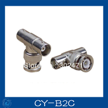 CCTV camera cable connector : BNC tee/T-head/2pcs cable connetor