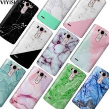 VIYISI For LG G6 Q6 G4 G5 Phone Case Coque X Power2 Q8 K7 K8 K10 2017 Marble Fundas Etui Soft TPU Silicone Back Capinha Cover