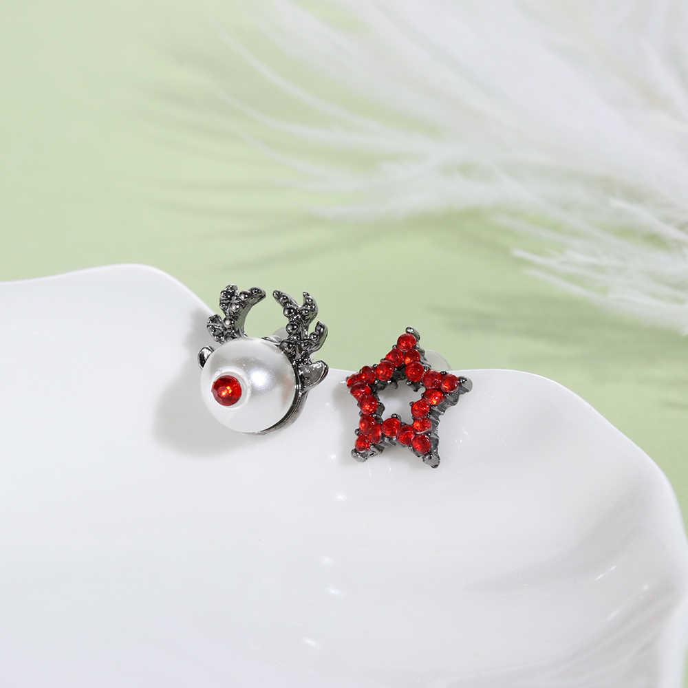 חג המולד תכשיטי אביזרי עגילים חמוד סנטה קלאוס איש שלג יפה עץ פעמון רומנטי חג המולד מתנות לנשים בנות ילדים