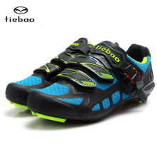 TIEBAO Road Cycling Shoes Lock pedal Bike Shoes SPD/SL LOOK-KEO Cleated Bicycle Shoes Zapatillas Ciclismo Fiettsschoenen