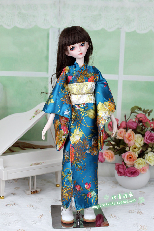 ФОТО 1/3 1/4 scale BJD Japanese kimono for BJD/SD girl dolls,A15A1183.Doll and other accessories not included