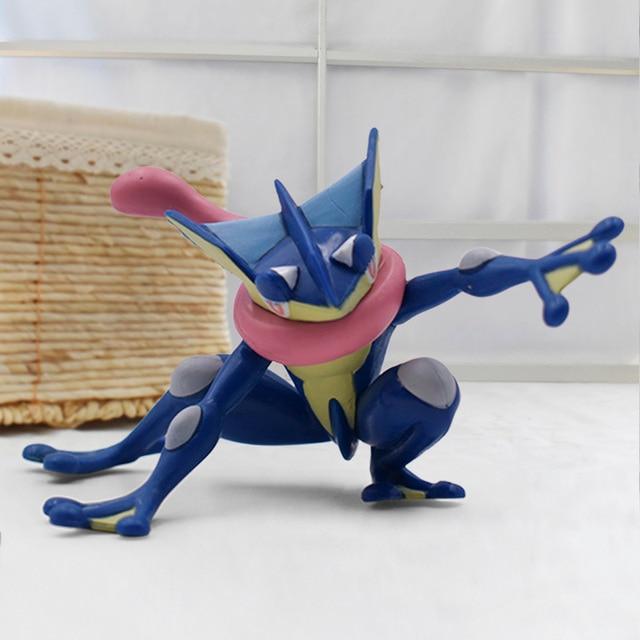 2019 Anime Cartoon Greninja PVC Action Figures Toy Children Collection Model Toys Gift 3 5cm
