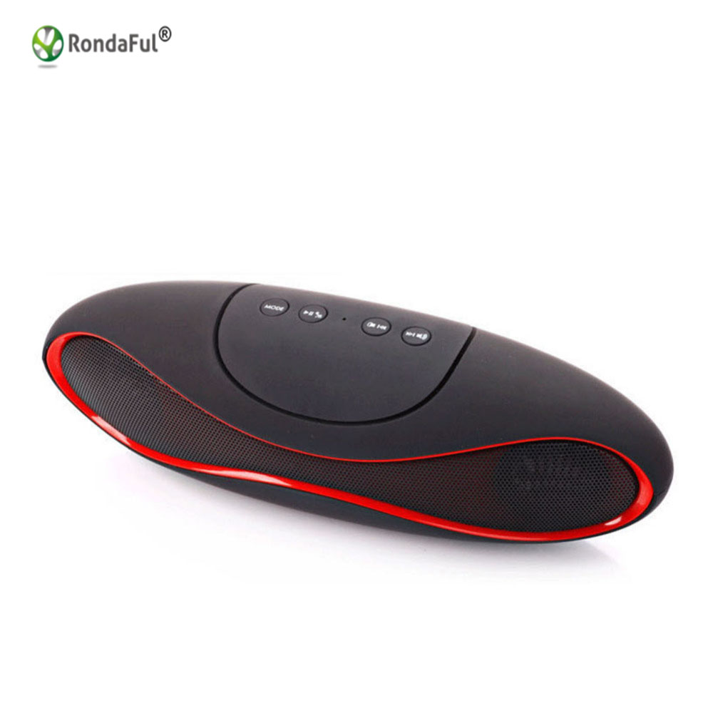 Portable Rugby Bluetooth Speakers Mini Bluetooth Speaker For Phone Subwoofer Loudspeaker Computer Wireless Speakers Laptop