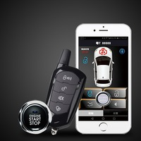 Universal Auto Anti theft Alarm Car Comfortable Keyless Entry One Button Start Remote Control System Automobile Car Accessorie