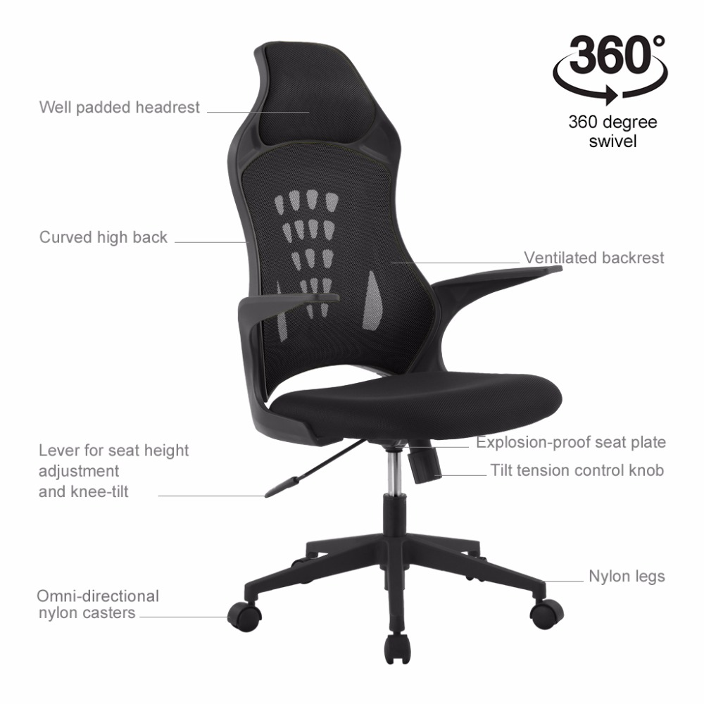 Langria Ergonomic High Back Mesh Office
