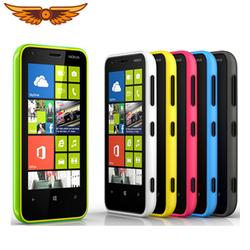 original Nokia Lumia 620 Unlocked 620 Windows cell Phone 8 Dual-core 1GHz 8GB Camera 5MP Wifi GPS Cellphone Free shipping