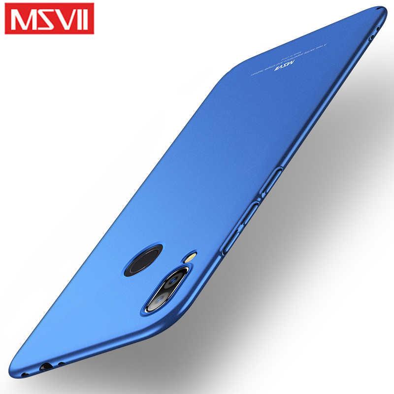 Msvii шикарный мобильный чехол для телефона противоударный Прочный ПК крышка на для ксиоми редми нот 7 про Xiaomi Redmi Note 7 Pro Note7 7Pro 3/4 32/64/128 GB Xiomi бампер
