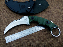 New arrival Strider+FOX utility outdoor survival karambit knife camping hunting knife tactical hand tool