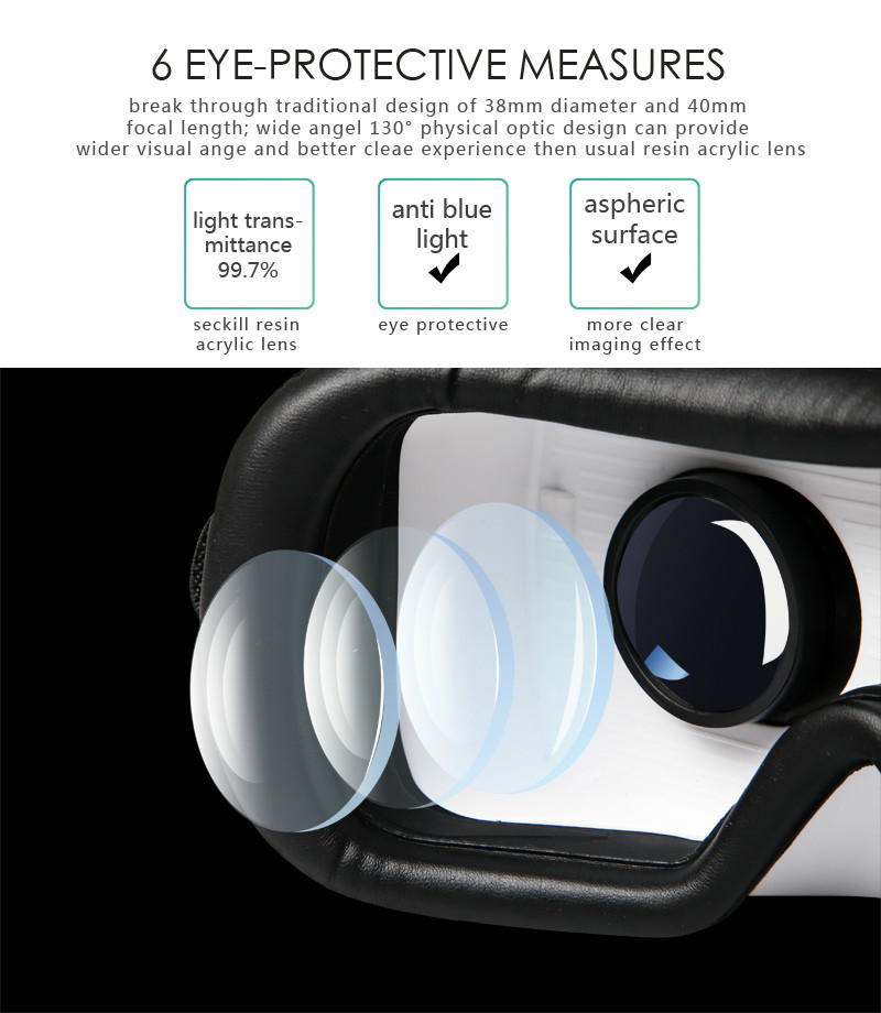 Virtual Reality Glasses VR Box Rirtual Reality Helmet Touch Function 3D Glasses VR Wearing Equipment 6