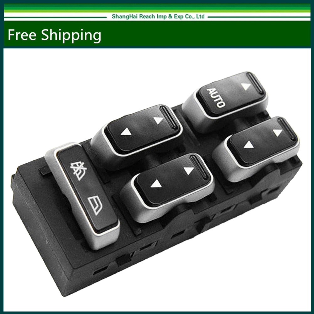 e2c new power window switch for lincoln town car 2003 2009 left front oe 5w1z 14529ba 5w1z 14529 ba 5w1z14529ba [ 1000 x 1000 Pixel ]