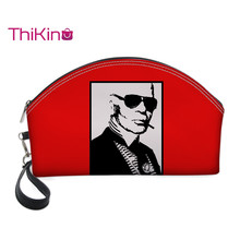 Thikin karl Lagerfelds Cosmetic Bags for Women Girls Makeup Box Travel Handbag Case Pouch Rock Storage Purse
