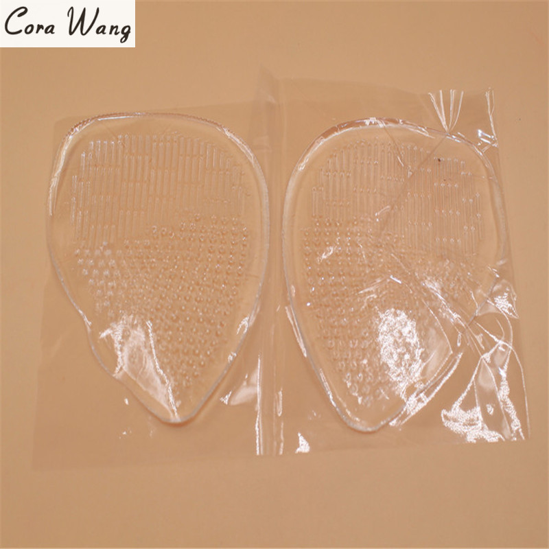 CORA WANG Shoes Pad Silicone Gel Foot Cushion Insoles Metatarsal Support Insert Pad Shoes New Arrival DD2ISA1005