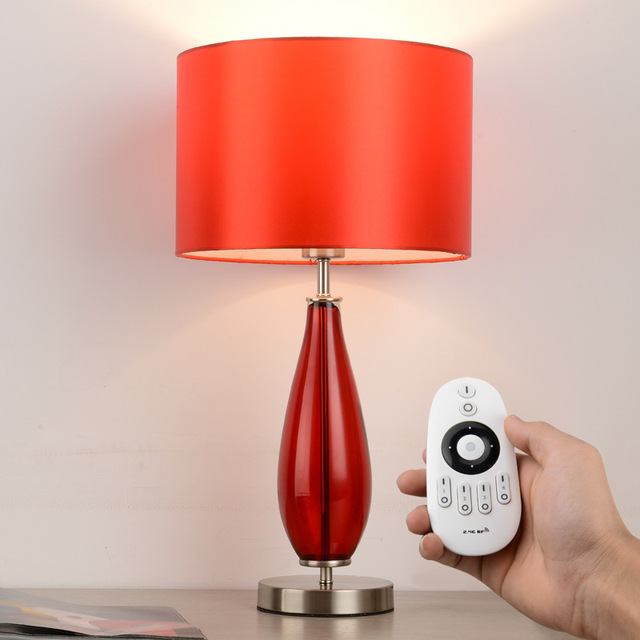 Yook 30 56cm European Intelligent Remote Control Table Lamp Modern