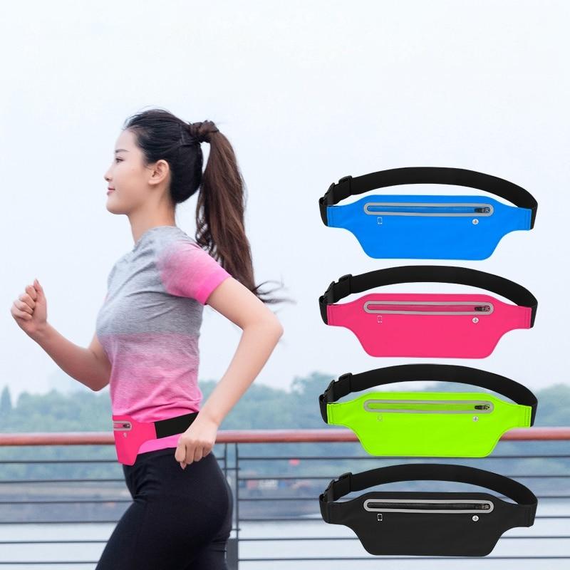 Waist Bag Waterproof Outdoor Sports Running Waist Bag Belt Yoga Pockets