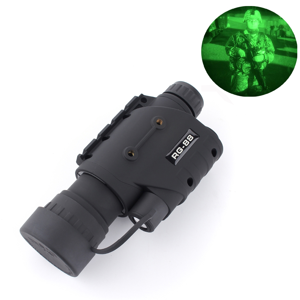 цена на 2017 RG-88 5X50 infrared Night vision riflescope, Night vision monocular, Night vision scope NV006