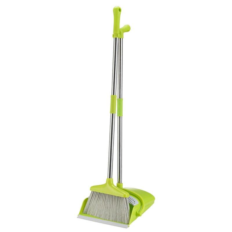 Hohe Qualität Kehrschaufel Weichen Borsten Besen Verdicken Haushalt Sweep Boden Multi-funktionale Nicht-Slip Griff Reinigung Werkzeug Multicolor