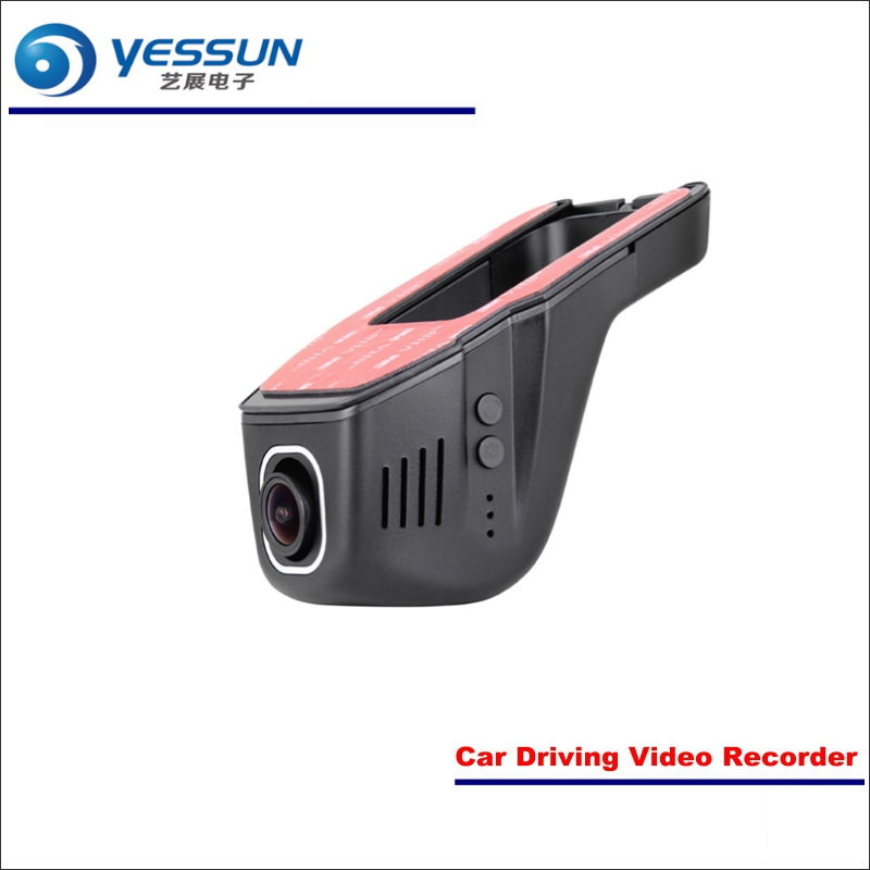 YESSUN Car DVR Driving Video Recorder For Honda Civic Front Camera Black Box Dash Cam Head Up Plug 1080P WIFI Phone APP for nissan elgrand novatek 96658 registrator dash cam car mini dvr driving video recorder control app wifi camera black box