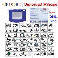 DHL Free V4.94 Digiprog III Mileage Correction Digiprog 3 Odometer Programmer Full Set Digiprog3 Auto Mileage Correction Tool