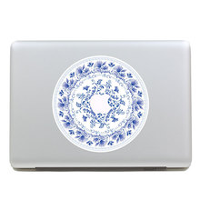 Removable Avery DIY beautiful china blue and white porcelain tablet sticker laptop computer sticker for laptop,205*270mm