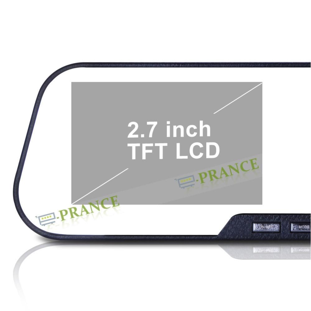 2.7'' LCD Novatek 96220 Car Rearview Mirror Monitor 1080P Full HD DV200 Mirror DVR Rear View Camera +IR Night Vision+SOS OT20