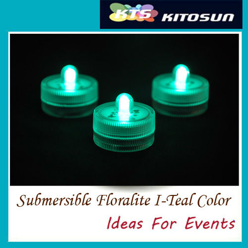 Factory Wholesale 100 Teal Color Valentineu0027s Day Single Frost LED  Waterproof Battery Operated Mini LED Lights