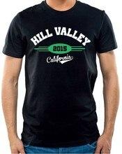 T-shirt Hill valle-californie-retour vers le futur-retour vers le futur