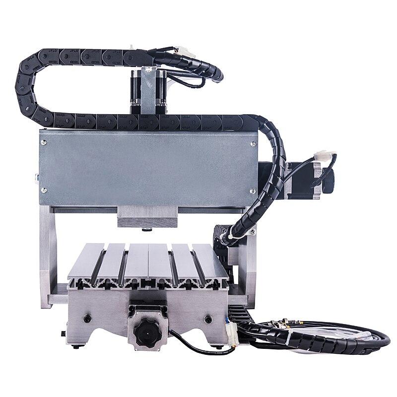 3 axes CNC Machine de gravure 3020 Z Mini routeur à bois 800 W broche de refroidissement par eau pour la coupe de métal - 4