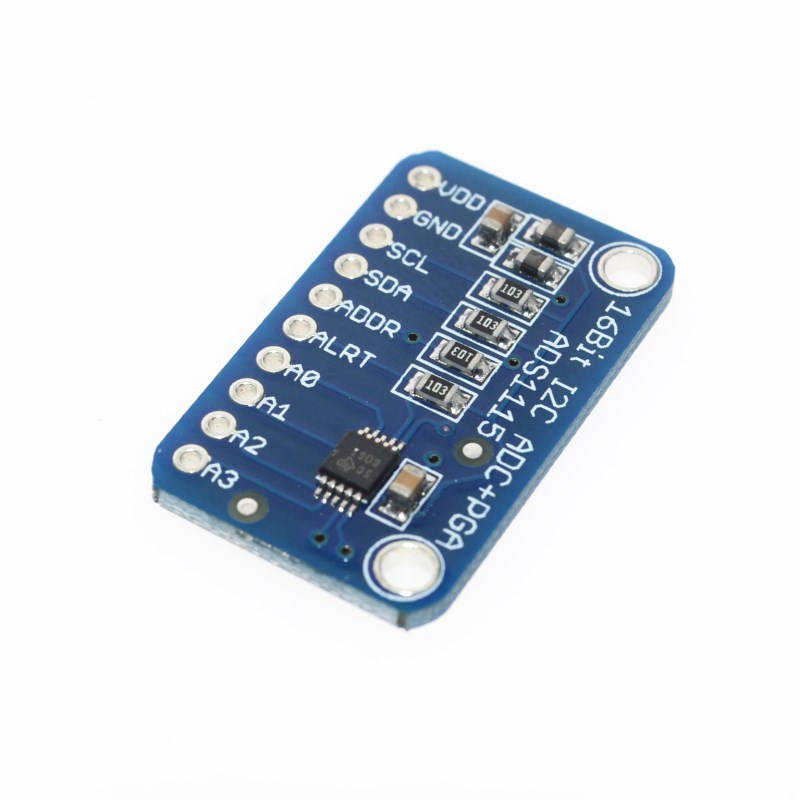 <font><b>16</b></font> <font><b>Bit</b></font> I2C ADS1115 Module <font><b>ADC</b></font> 4 channel with Pro Gain Amplifier for <font><b>Arduino</b></font> RPi 1PCS image