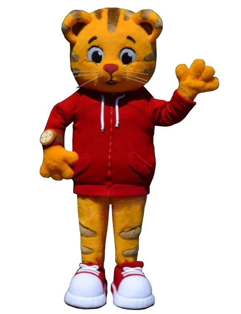 Cosplay cartone animato grr ific sentimenti daniel tiger costume