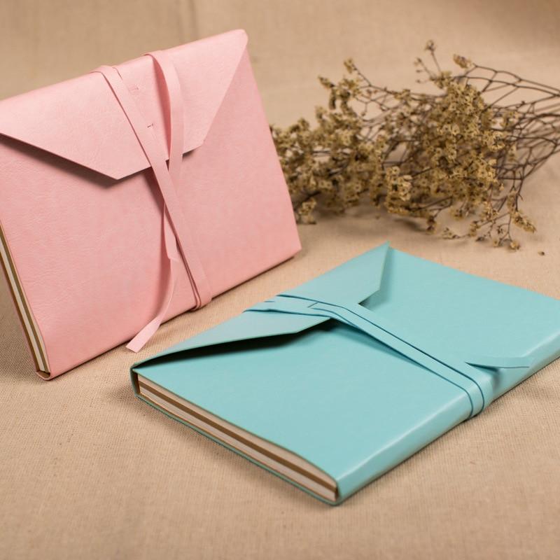 Kožená brašna Kraft Paper A5 Dárková krabička Cute Dotted - Bloky a záznamní knihy - Fotografie 2