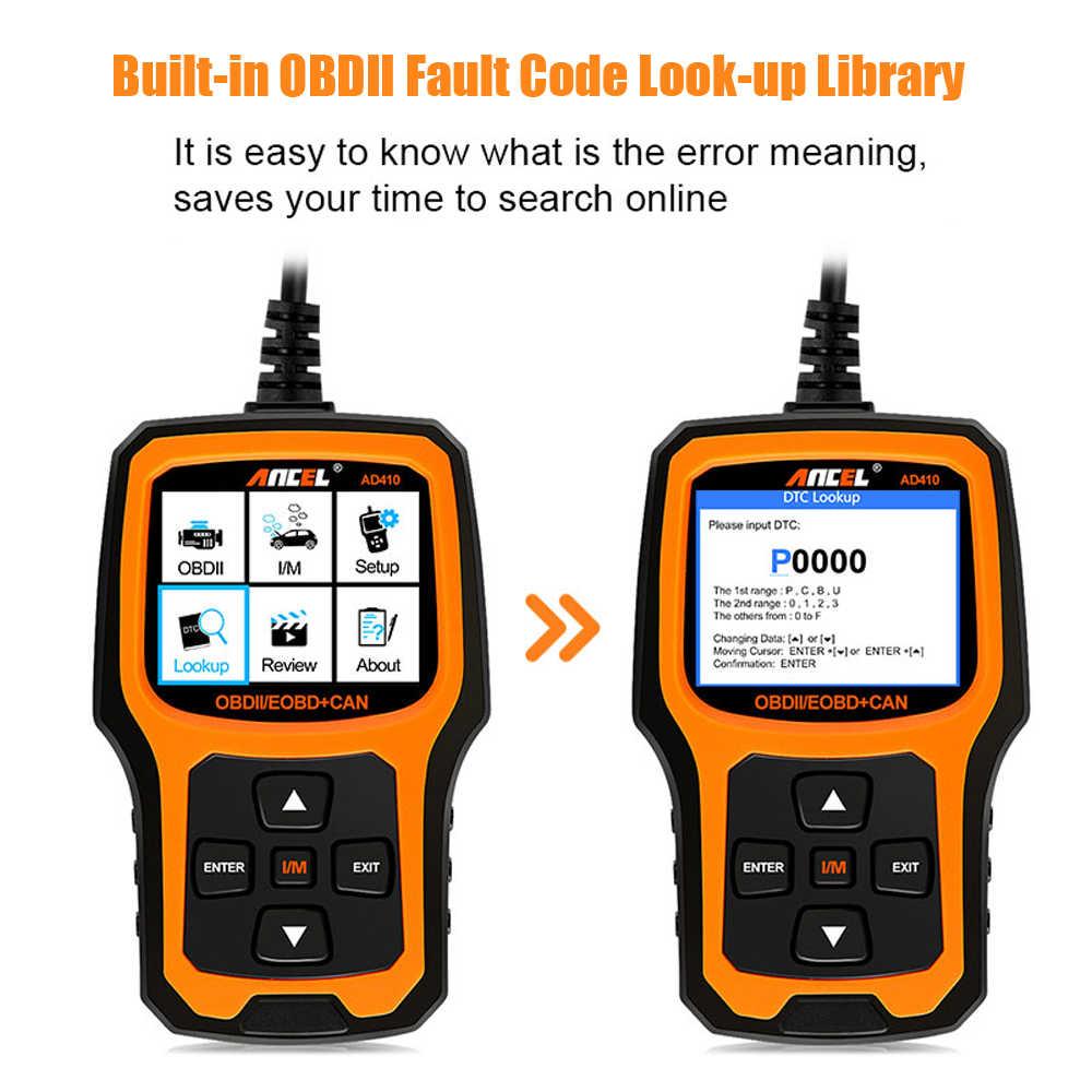 Detail Feedback Questions about OBD2 Scanner OBD Car Diagnostic Auto