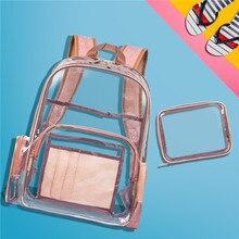 Bag Woman 2019ins Both Shoulders Package Pvc Waterproof Transparent Originality Jelly