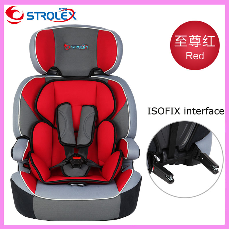 Child Car Safety Seats Isofix Interface Five-point Strap Belt Infant Kids Children Boost ...