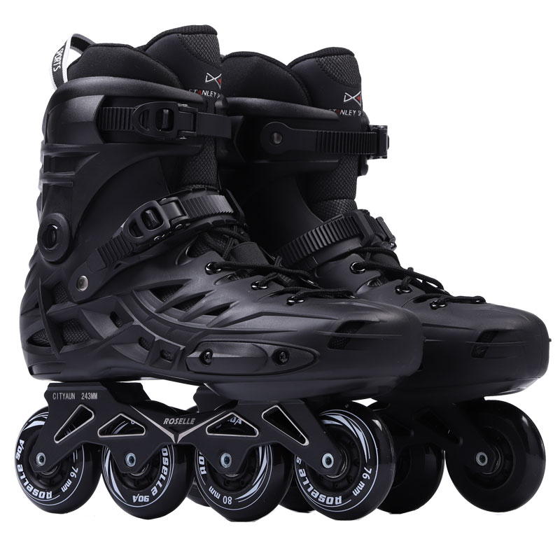 New Arrival Men Women's Inline Skates Adult Roller Skating Shoes Sliding Freestyle Skating Patines Rockered Wheels